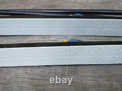 LL Bean 150cm Cross Country Skis SNS Salomon Profil Bindings with Poles Nordic