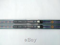 LL Bean Solitude Waxable 180cm Skis Cross Country XC Nordic SNS Profil Binding