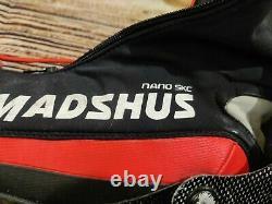 MADSHUS Nano Carbon SKC Cross Country Ski Boots Racing Skate Men's Size EU44 NNN