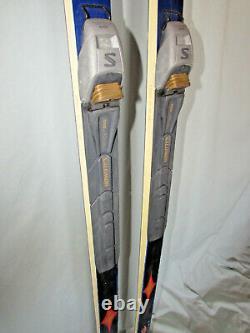 Madshus Backcountry Series cross country skis 195cm with Salomon SNS BC bindings