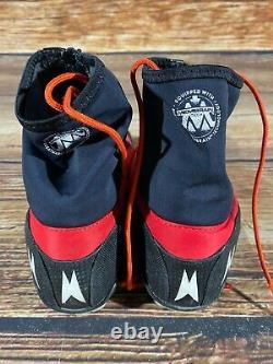 Madshus Nano CLC Carbon Nordic Cross Country Ski Boots Size EU44.5 NNN bindings