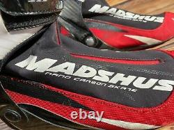 Madshus Nano Carbon Skate Cross Country Ski Boots Size EU46 US11.5 for NNN