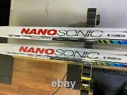 Madshus Nanosonic Carbon Classic Intelligrip XC Cross Country Skis 195cm