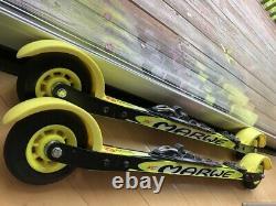 Marwe 620 XC carbon skate roller ski cross country x-country biathlon NNN bind