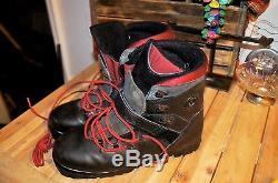 Men's Mens Black Merrell M2 Slide Cross Country Ski Boots Shoes 10