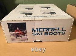 Merrell Touring Westwind Cross Country Ski Boots Nordic Nord 3 Pin Mens 9