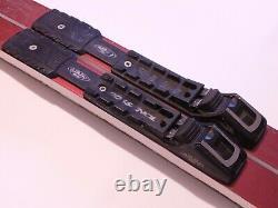 Merrill Metal Edge Waxable 180cm Skis Cross Country XC Nordic NNN BC Binding