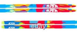 NEW ALPINA ACTION SKATING SKATE XC cross country SKIS 182cm
