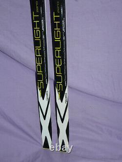 NEW! Fischer SUPERLIGHT ZERO 187cm XC Cross Country Skis no bindings