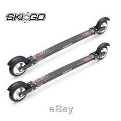 NEW! SKIGO XC CARBON Roller Composite Skate Rollerski