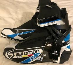 NEW Salomon Pro Combi Prolink XC Cross Country NNN Ski Boots US 10 / 9.5 UK