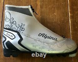 New Alpina Eve 10T NNN XC cross country ski boots, Euro 37