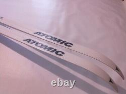 New Atomic Waxless 175 cm Skis Cross Country XC Nordic Rottefella NNN Bindings
