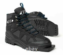 New Whitewoods 301 XC Size 49 cross country 75mm 3 Pin ski boots 13.5M 15W 48EUR