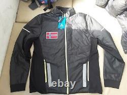 ODLO NORWAY MEN PRIMALOFT size L ski cross country VEST primaloft jacket JACKE