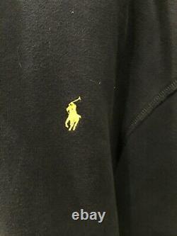 Polo Ralph Lauren Fleece PRL Cross Country 100 Miles Ski Hoodie Men's 3XL Tall