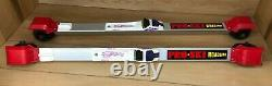 Pro Ski S2 Racing Classic Roller Cross Country Skate Ski & Rottefella Bindings