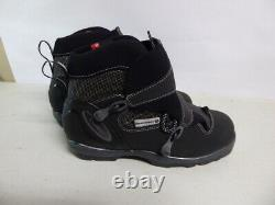 ROSSIGNOL Cross Country Ski Boots Womens 8.5 EU 41 Black Skiing Excellent NNN BC