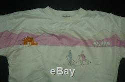 Rare Vintage ADIDAS Cross Country Ski Skiing Crewneck Sweatshirt 80s 90s Womens