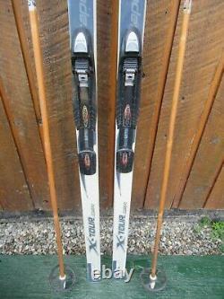 Ready to Use Cross Country 70 Long ROSSIGNOL 180 cm Skis + NNN Bindings + Poles