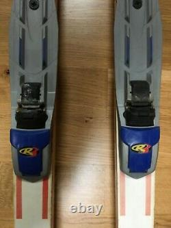 Roller Skis JOFA 3 wheel cross country skis with red fenders