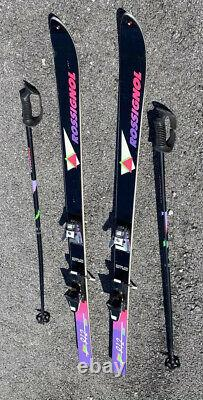 Rossignol 912 Cross Country Skis With Poles