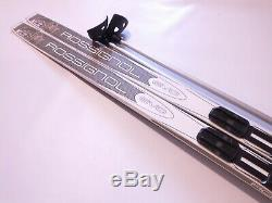 Rossignol Evo Waxless 186cm Skis Cross Country XC Nordic NNN Binding & Poles