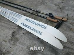 Rossignol Tempo 178cm Cross Country Ski SNS Salomon Profil Bindings with Poles
