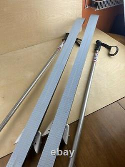 Rossignol Touring Extreme Cross Country Skis With Bindings And Poles 185cm