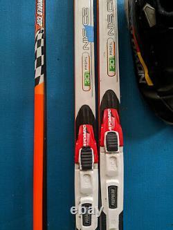 Rossignol X-Ium Classic skis 208 cm, Atomic Propulse SNS binding, HS Carbon Poles