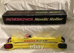 Rossingnol Cross Country Ski Nordic Rollers, Roller Blades, OSFA