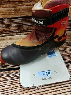 SALOMON 9.1 SC Nordic Cross Country Ski Boots Size EU43 1/3 SNS Profil