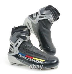 SALOMON RS Carbon Skate Nordic Ski Boots Sz 43.3 EUR 9 USA Cross Country EUC