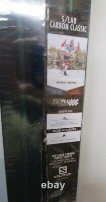 SKIS SALOMON Carbon Classic S Lab 196cm SOFT Cross Country NEW SEALED