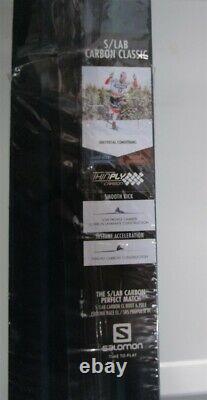 SKIS Salomon Carbon Classic S Lab 196cm MEDIUM Cross Country NEW SEALED