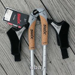 SWIX Carbon Team CT2 Composite Nordic Ski Poles XC 155 CM NWT
