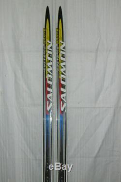 Salomon Elite 8x Top Langlauf Skating Ski 186 CM + Salomon Pilot Bindung