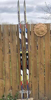Salomon Equipe 10 Classic LAB Cross Country Skis 206 Salomon Bindings-Austria