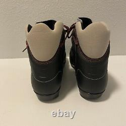 Salomon Escape 3 Cross Country Ski Boots Men Size 11 Gift Black Red Winter