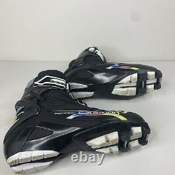Salomon Mens Size 10.5 Black Equipe 8 SK XC Cross Country Skate Ski Boots
