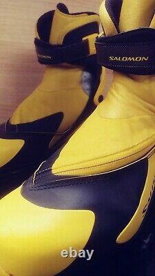Salomon RS9 XC Cross Country Skate Ski Boots (SNS Pilot), Women's 9
