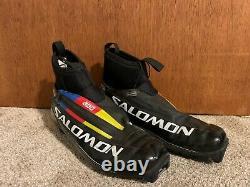 Salomon S-Lab Carbon 3-D Cross Country Ski Boots EU 44 US 10