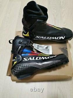 Salomon S-Lab Carbon Skate Boots Cross Country Ski Boots SNS Pilot EUR 46 NEW