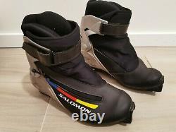 Salomon Skate Nordic Cross Country Ski Boots Size EU 38 2/3 SNS Profil