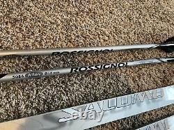 Salomon Snowscape 8 Cross Country Skis L 183 Set with 5056 Rossignol Poles