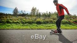 Skike R8 Rahmen PU 125 Rädern Wheels Cross Skate Rollski Skiroller Rollerski