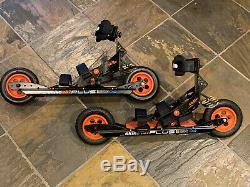 Skike V07 Plus Cross Country Skates / Nordic Skates / Roller Skis (barely used)
