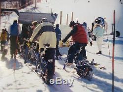 Snow Bike Cycle skis track wheel ski complete winter sports downhill sled Ktrack