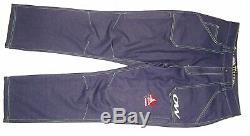 Team Canada Cross Country Ski Pants Mens L Olympic Athlete Denim Jean National