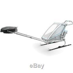 Thule Chariot Cross-Country Skiing Kit Ski-Langlauf-Set Schlitten Ski Anhänger